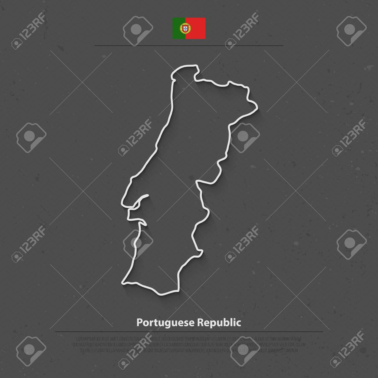 Portugal Map Stock Photos Portugal Sparkfly Fen Map Osrs Map - Portugal map icon
