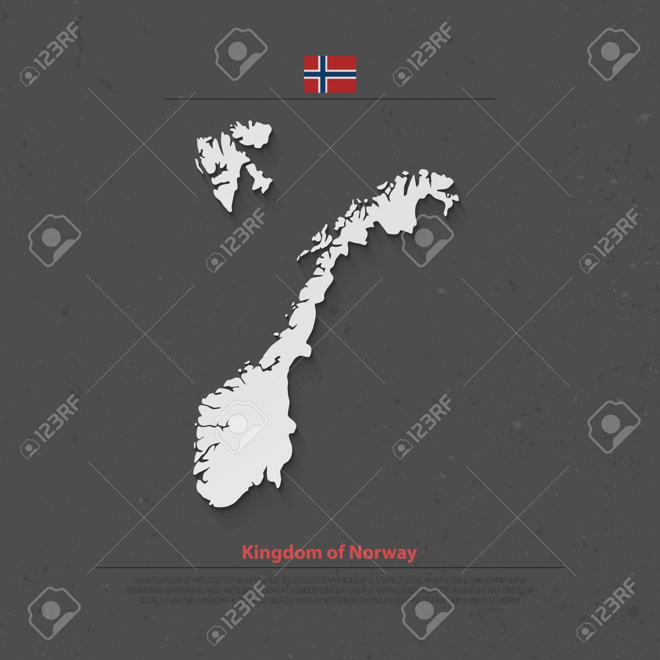 Kingdom of Norway isolated map and official flag icons. vector.. on republic of panama map, republic of maldives map, russian federation map, united arab emirates map, republic of moldova map, republic of turkey map, republic of san marino map, republic of india map, bailiwick of jersey map, republic of cyprus map, state of israel map, republic of colombia map, republic of south africa map, people's republic of china map, united states of america map, united republic of tanzania map, republic of belarus map, republic of nauru map, japan map, republic of palau map,