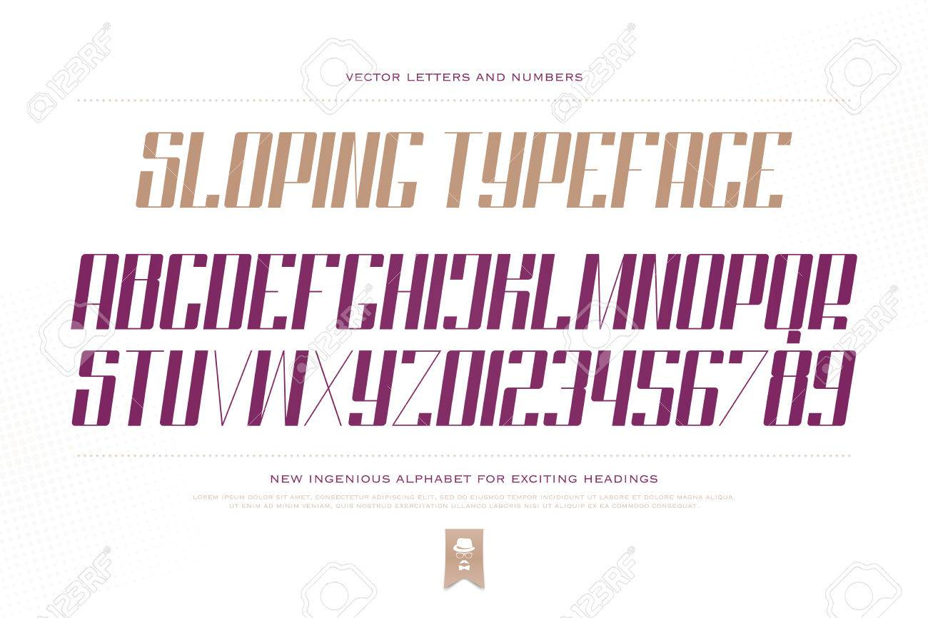 Slanted style alphabet letters and numbers isolated on white slanted style alphabet letters and numbers isolated on white background font type design oblique buycottarizona Gallery