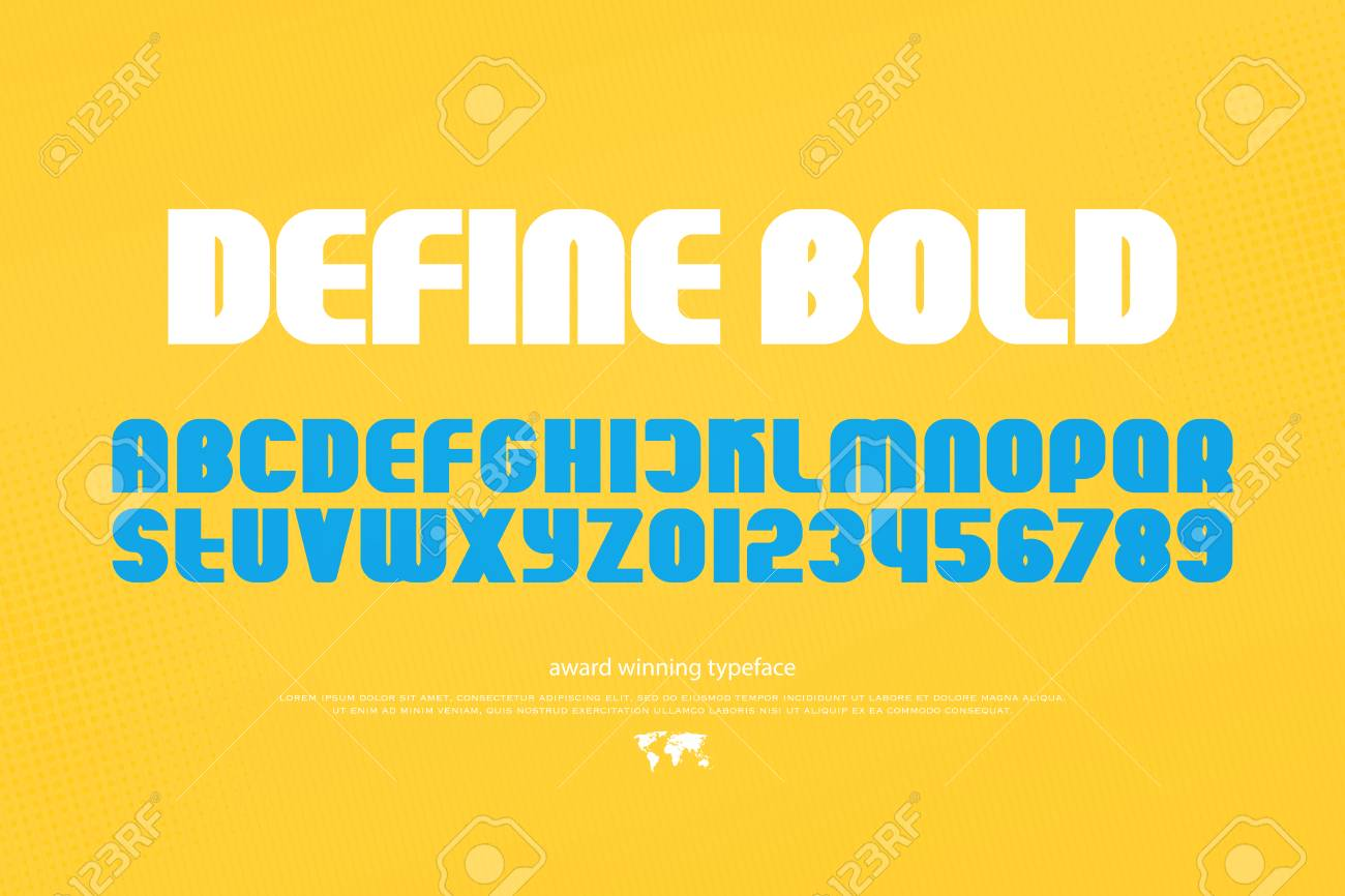 Buy Bold stylish alphabets picture trends
