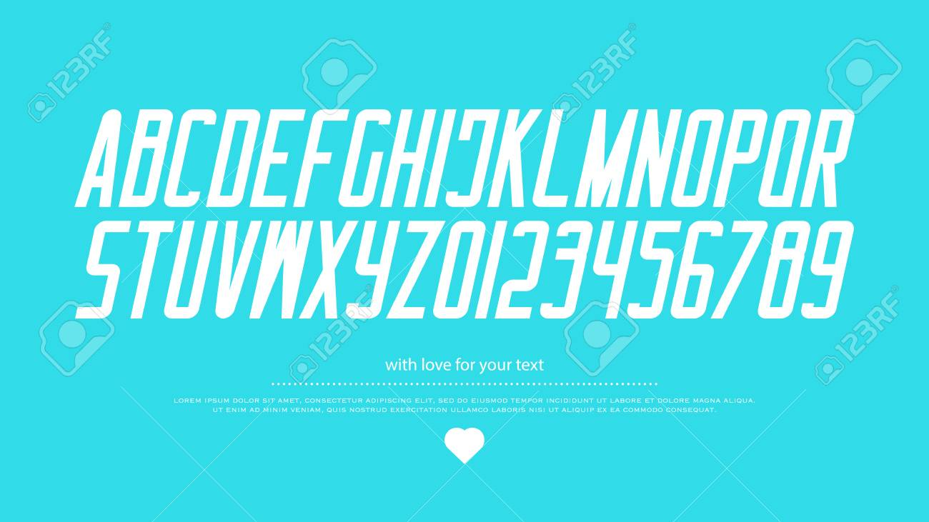 Italic style alphabet letters and numbers vector italics font italic style alphabet letters and numbers vector italics font type design slant lettering buycottarizona Gallery