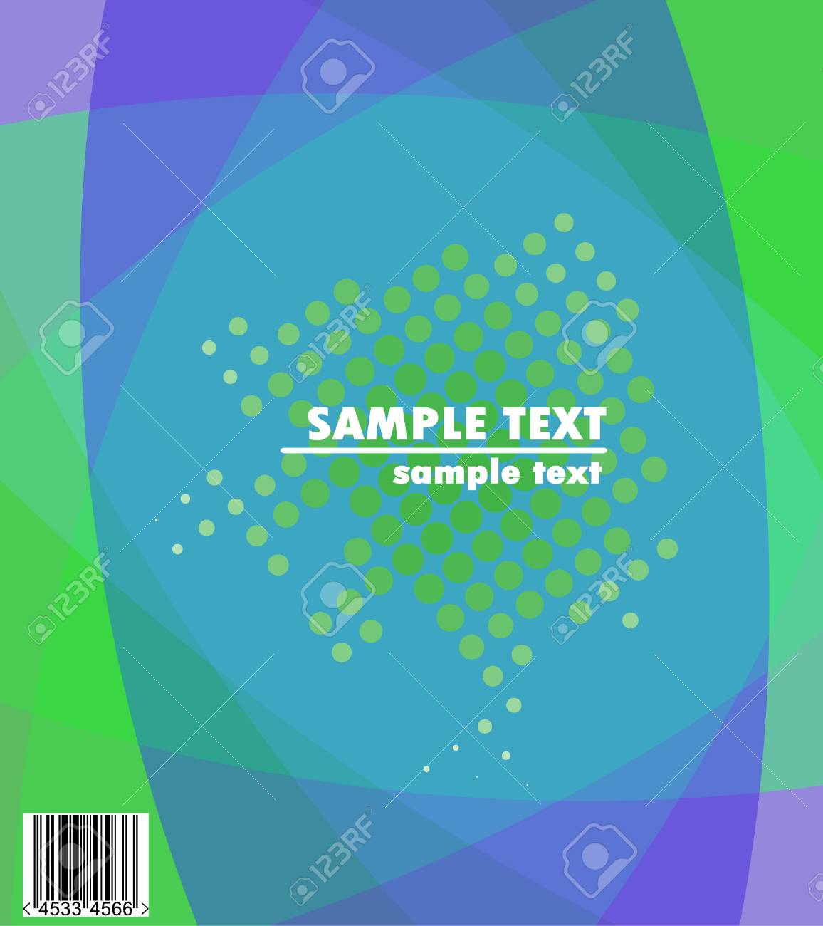 text against abstract background and halftone Stock Vector - 4212607
