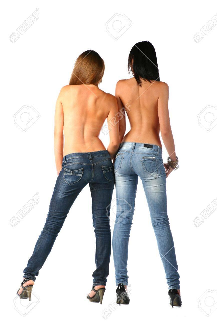Сексуальные в джинсах 16 фотография