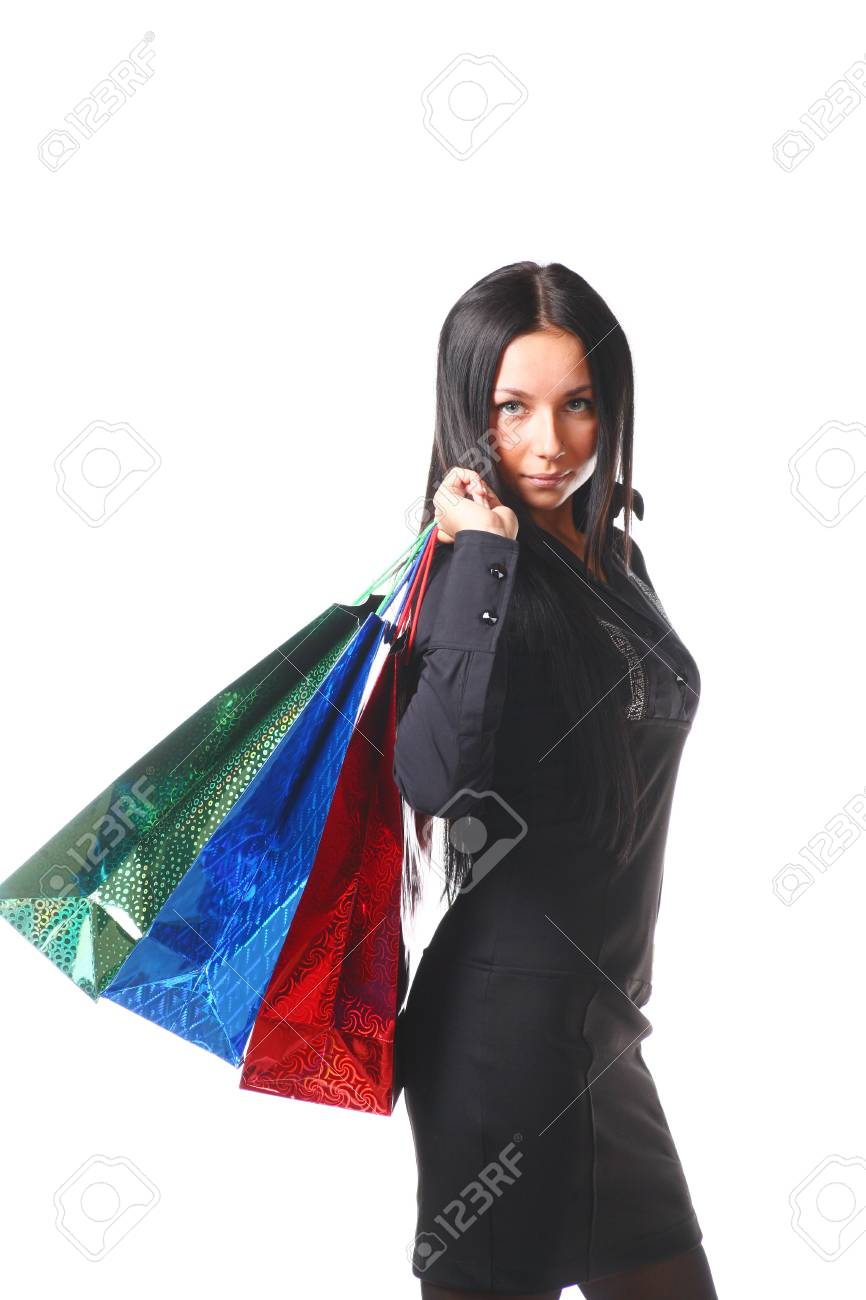 Shopping Woman Stock Photo - 8557376