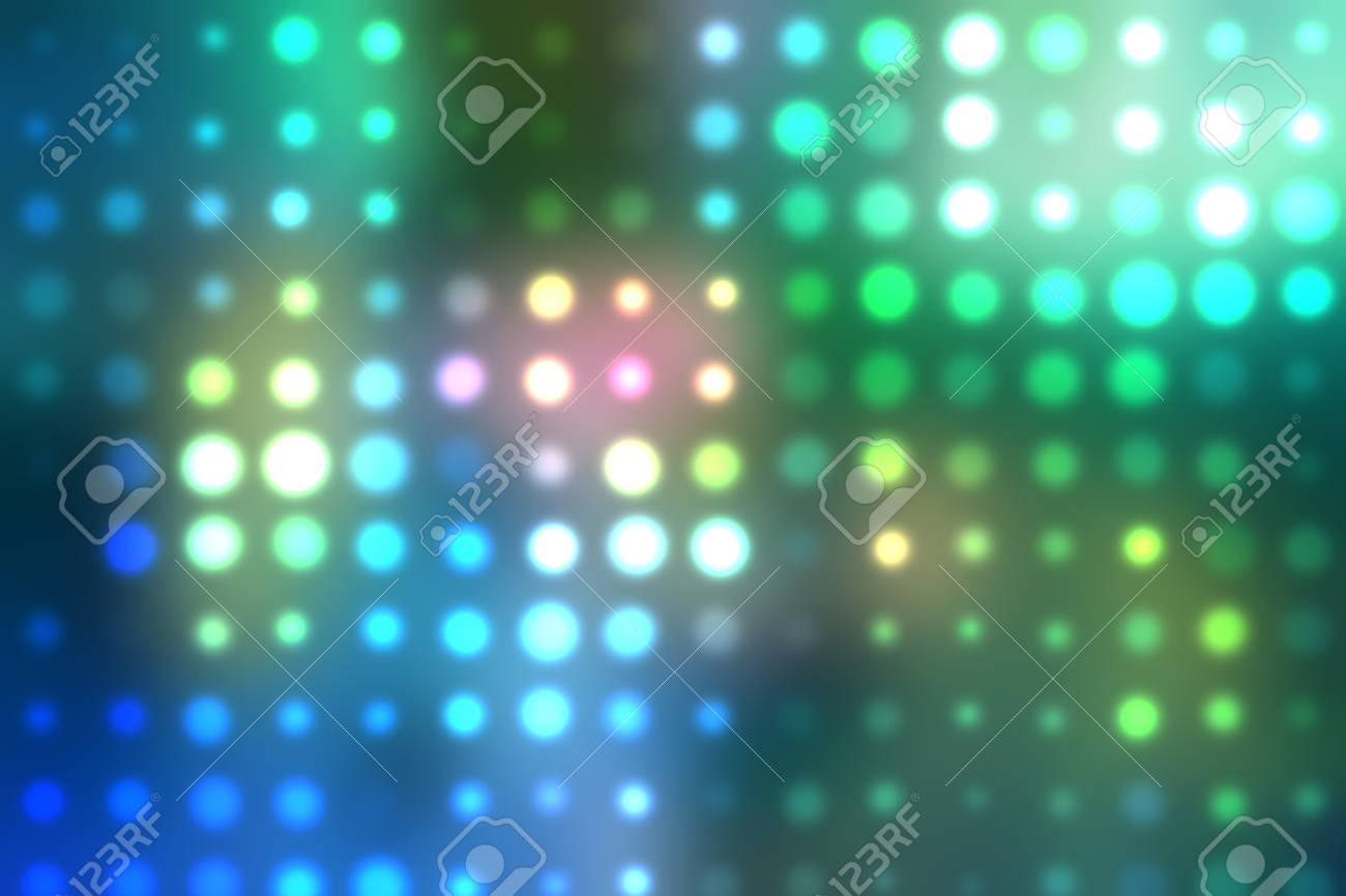 Dotted background of the colorful dots on the blured light Stock Photo - 10493813
