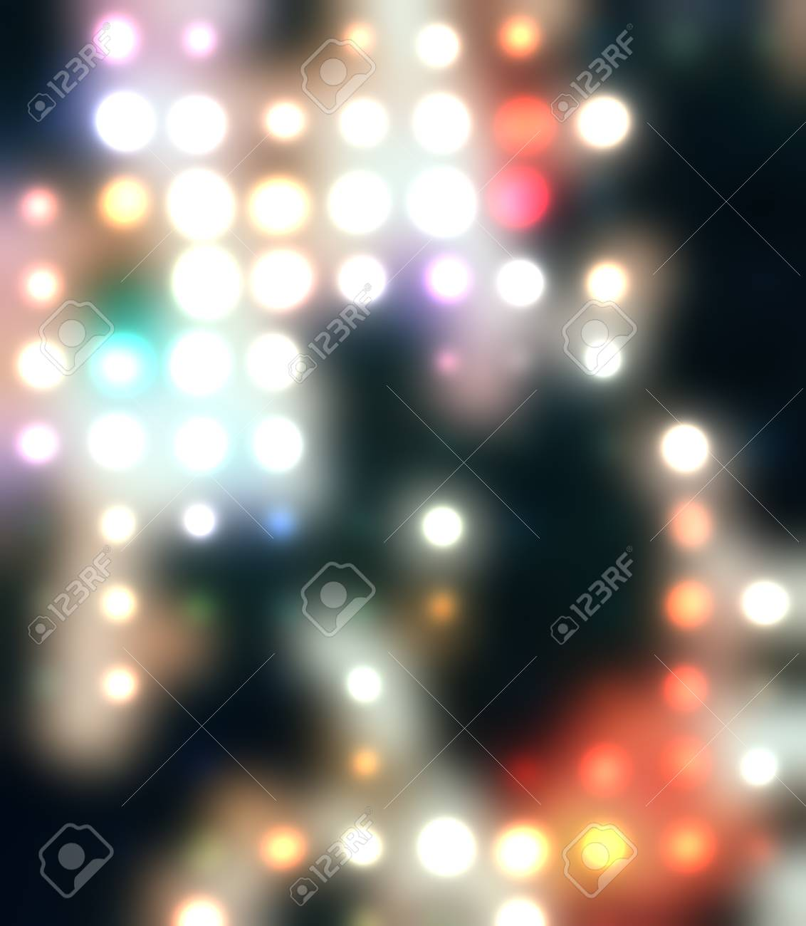 Abstract spots of lights Stock Vector - 11338787