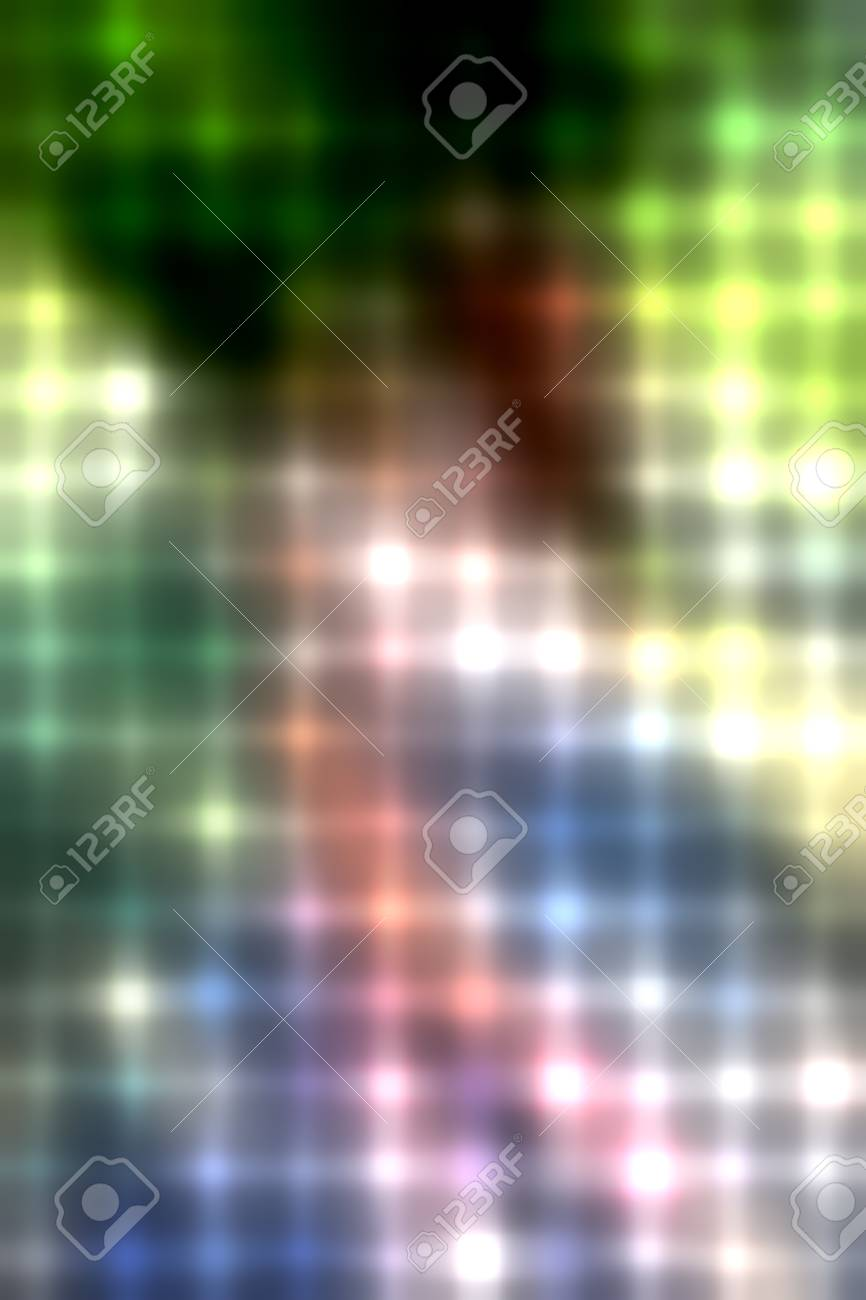 abstract lines and dots colorful background Stock Photo - 11983592