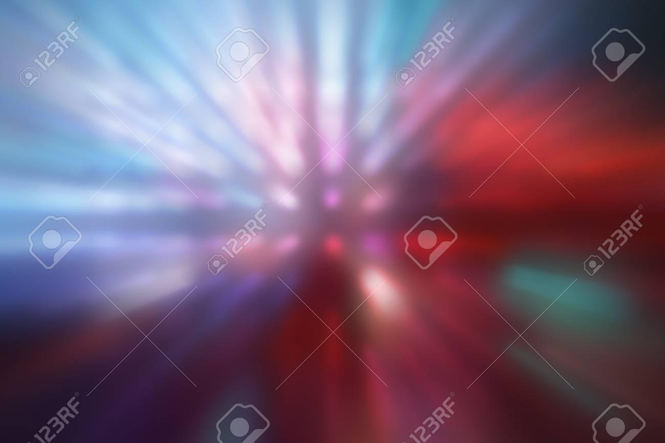 illustration of blurred neon disco light dots pattern on dark background Stock Photo - 12742073