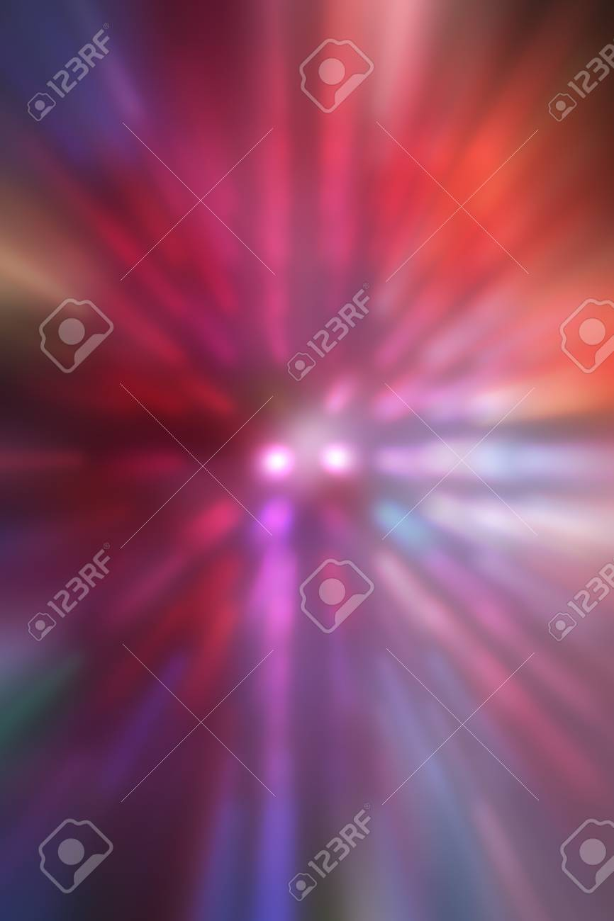 Decorative christmas background - defocused reflection of lights. Stock Photo - 12742117