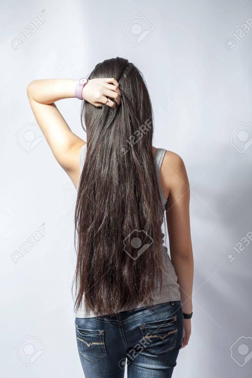 Фото девушки с русыми волосами вид со спины 28 фотография