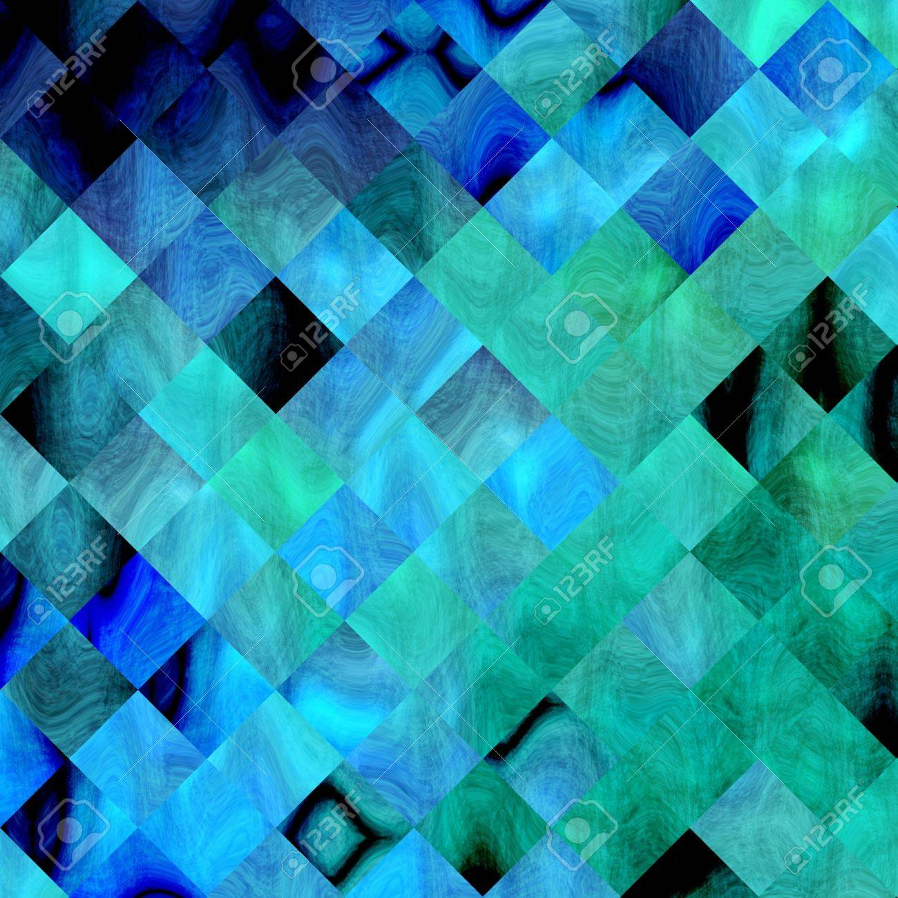 background paper Textures and Backgrounds grungy squares mixed colors. Wallpaper background or backdrop for different types of design Stock Photo - 18503661