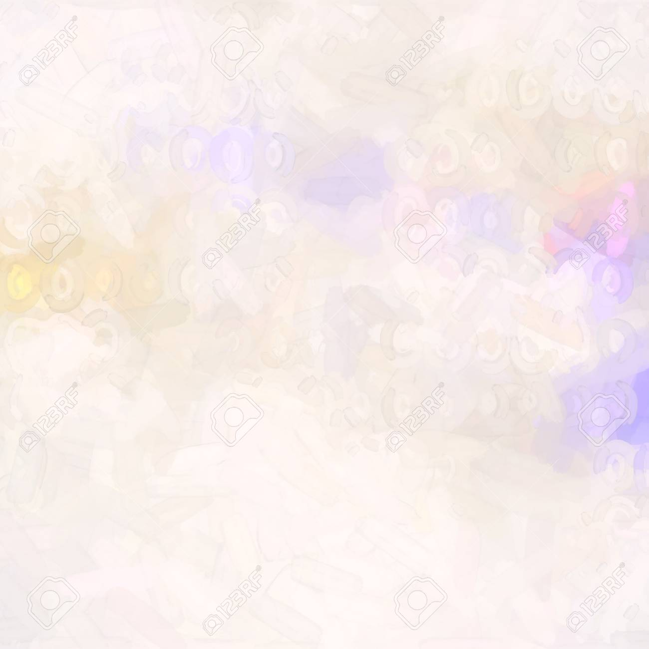 abstract watercolor background paper design of bright color splashes in yellow red warm color , modern art painted canvas of old faded vintage grunge background texture atmosphere - 18636764
