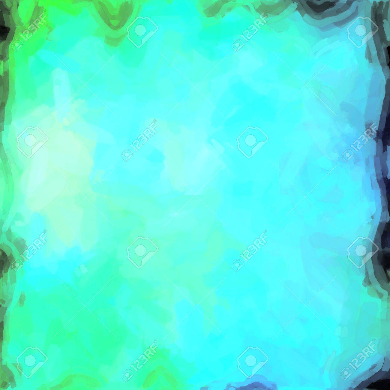 abstract color background of mixed colors like watercolor paint. Spots of light gently mixed on the square backdrop Stock Photo - 18742277