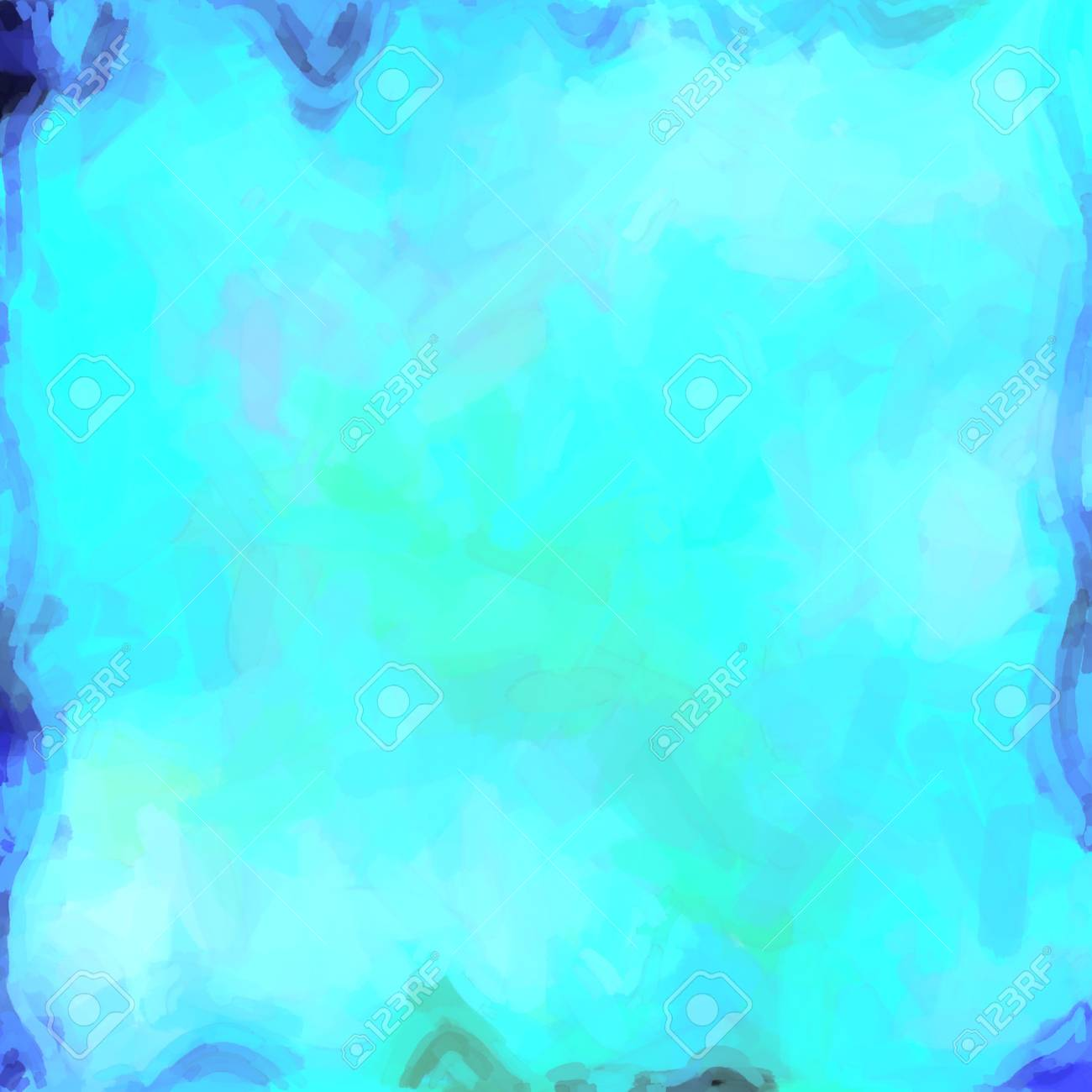abstract color background of mixed colors like watercolor paint. Spots of light gently mixed on the square backdrop Stock Photo - 18742275