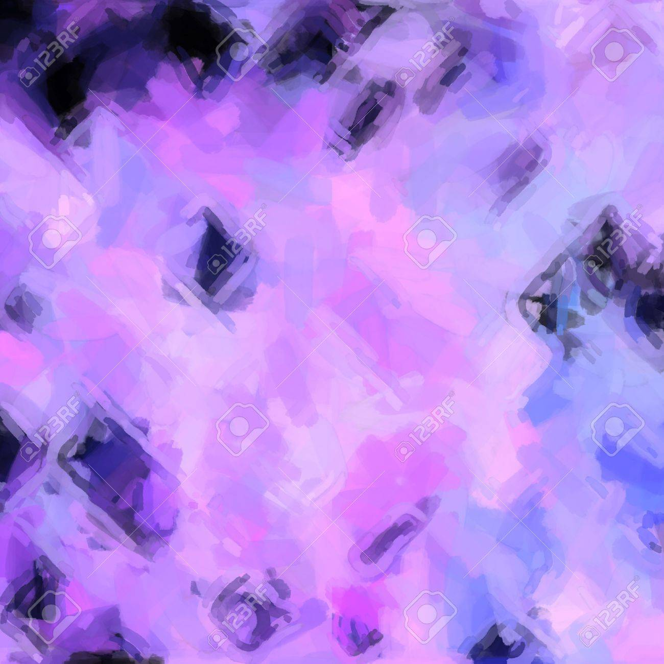 abstract color background of mixed colors like watercolor paint. Spots of light gently mixed on the square backdrop Stock Photo - 18774925