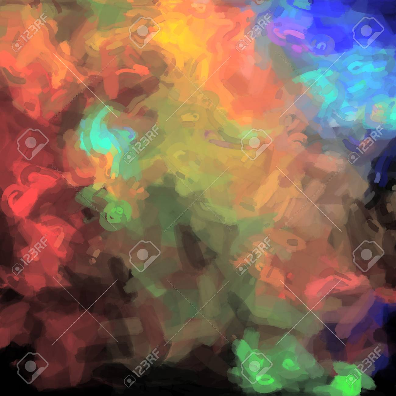 watercolor backdrop art paint background in mixed clors abstract Stock Photo - 18775211