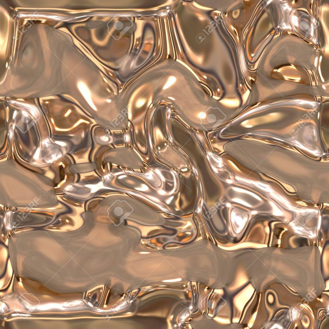 Seamless metallic liquid texture Stock Photo - 19565157