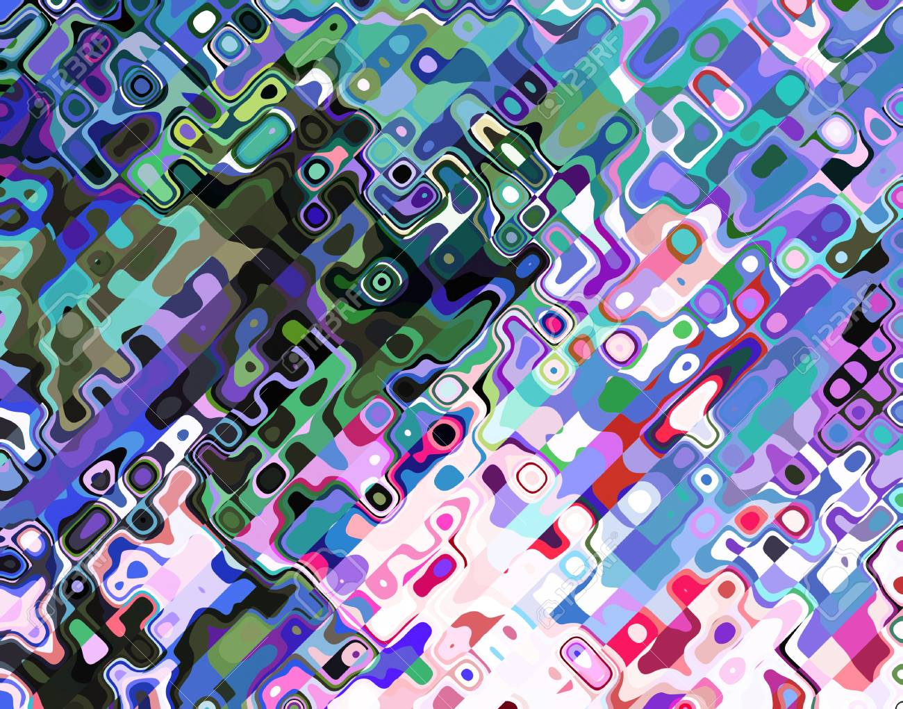 Raster abstract background colorful lines Stock Photo - 21289274