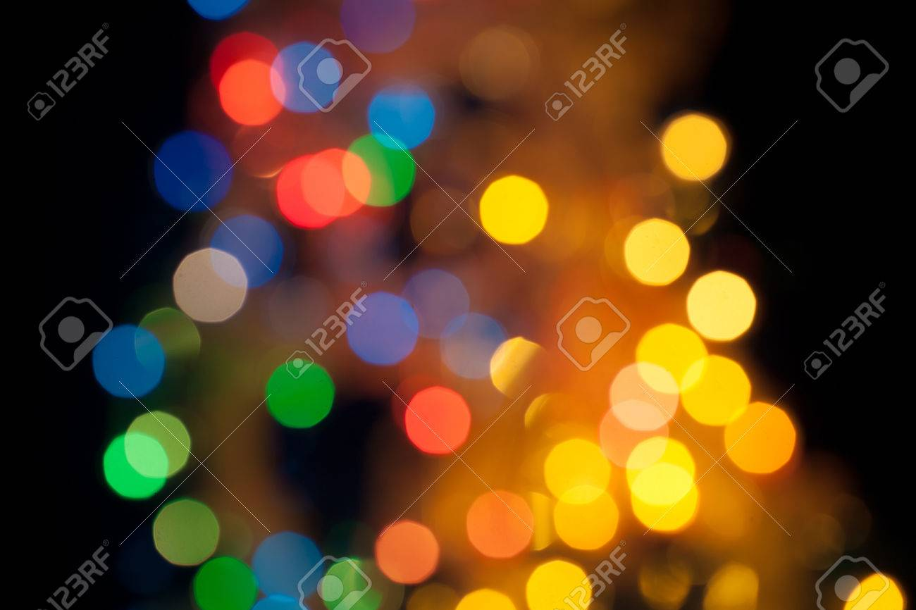 pretty bright lights as wallpaper abstract circular bokeh background