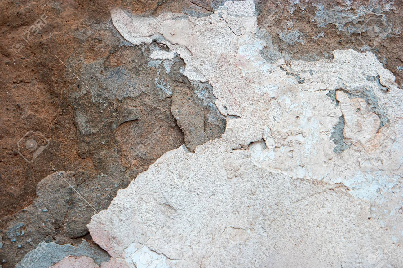 Carta Da Parati Su Muro Ruvido.Vecchio Muro Di Cemento Superficie Ruvida Carta Da Parati