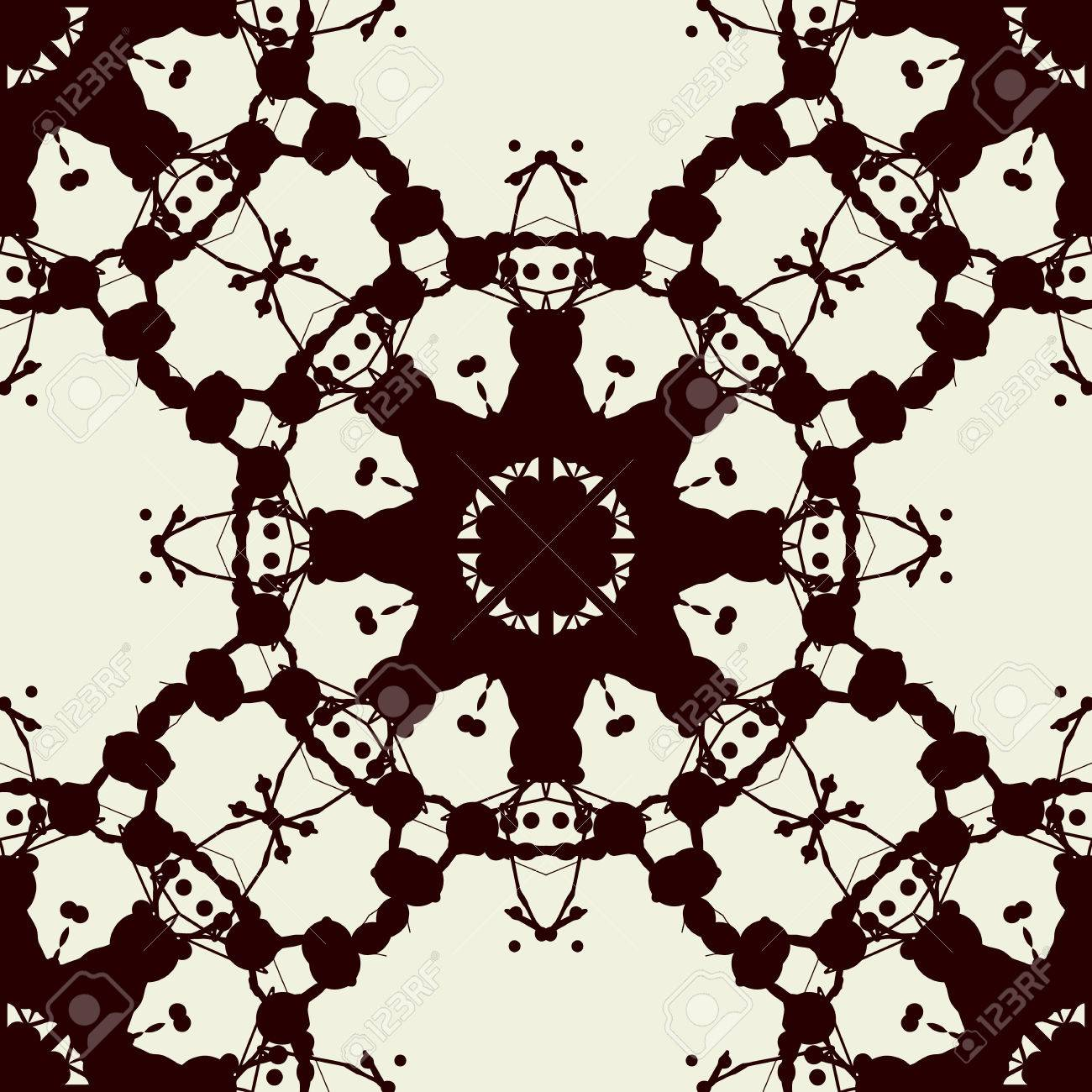 Seamless Print Based On Rorschach Inkblot Test Abstract Seamless Royalty Free Cliparts Vectors And Stock Illustration Image 62460264