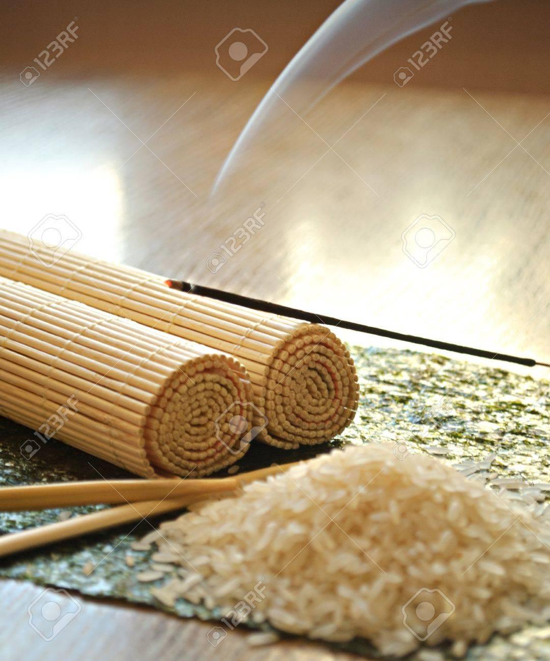 Rijst, Eetstokjes, Bamboe, Azië, Aziatisch, Japans, Keuken, Sushi ...