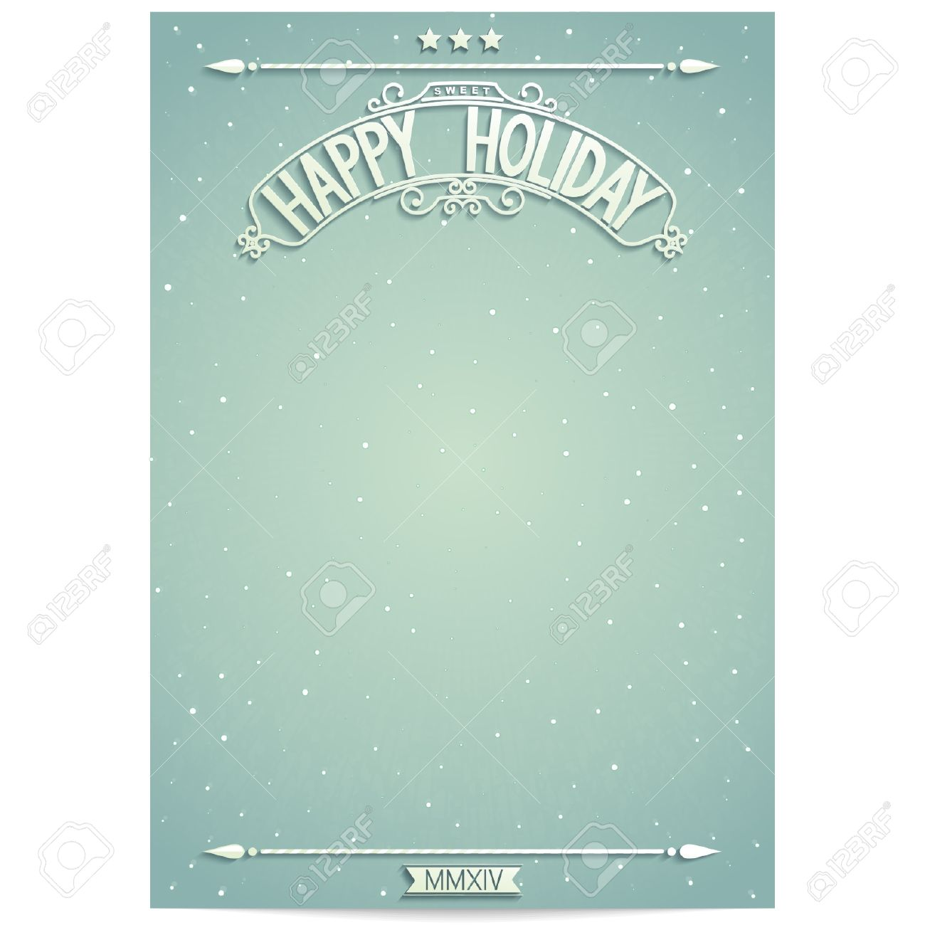 happy holiday poster template for wishes royalty cliparts happy holiday poster template for wishes stock vector 24889730