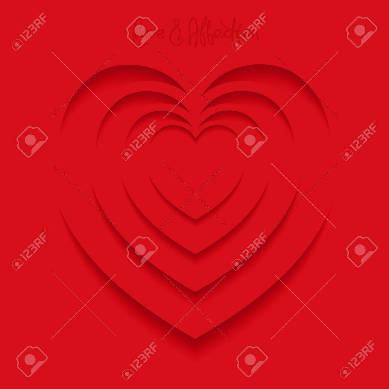 Optical illusion in the heart shape a symbol of love negative optical illusion in the heart shape a symbol of love negative space design biocorpaavc Images