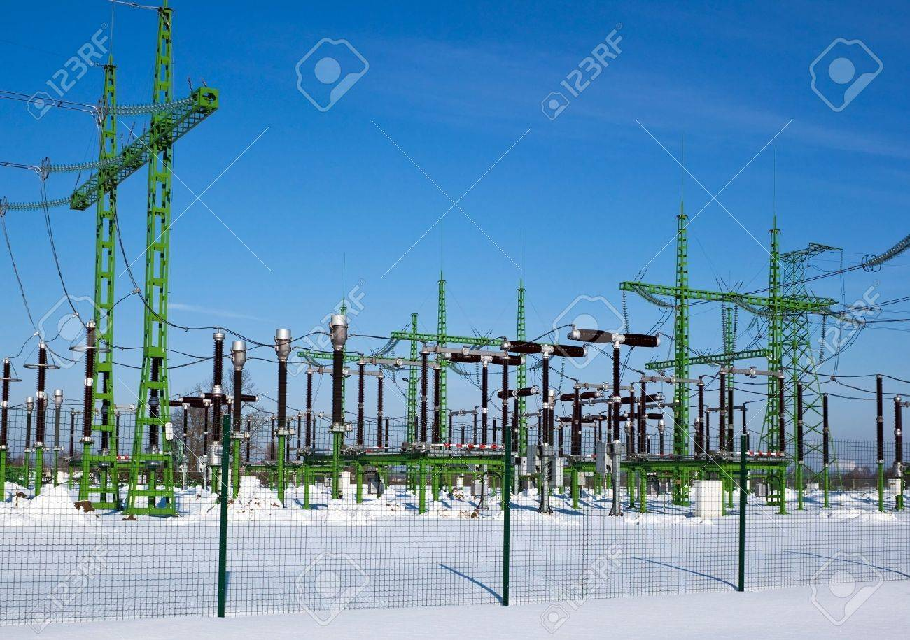 Power station generates electricity for nearest villages Stock Photo - 9212053