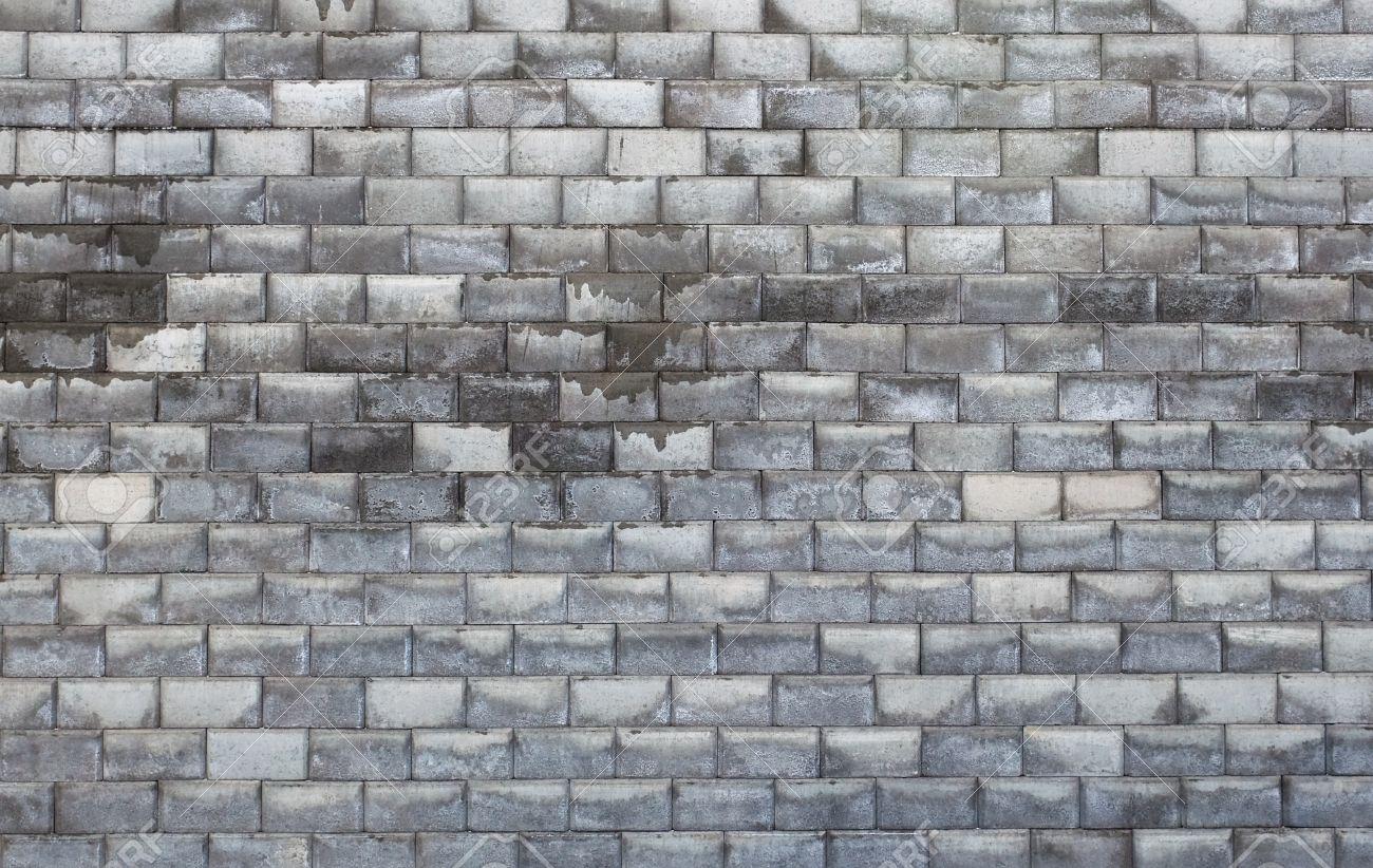 Pattern of wet brick stone wall Stock Photo - 9639413