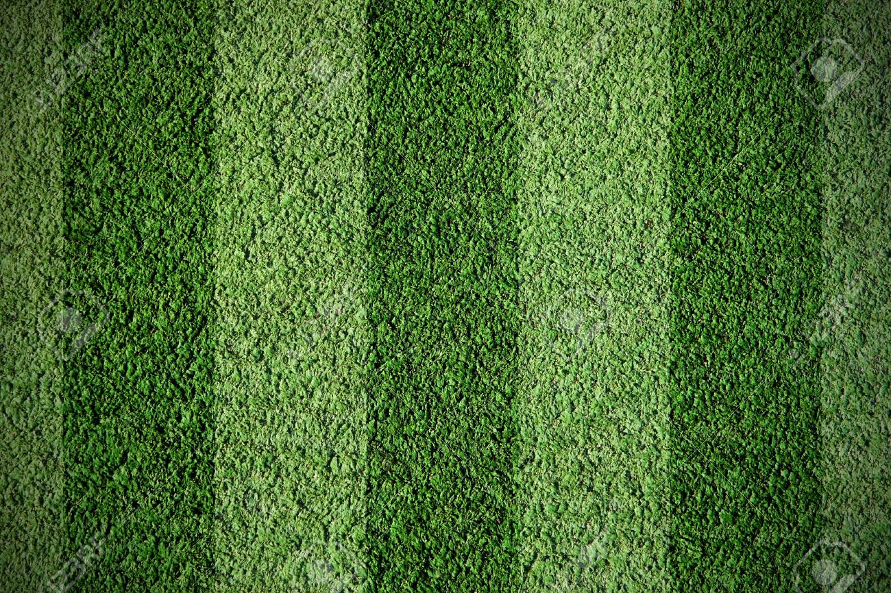 Not Natural Football Green Grass Stock Photo Picture And Royalty