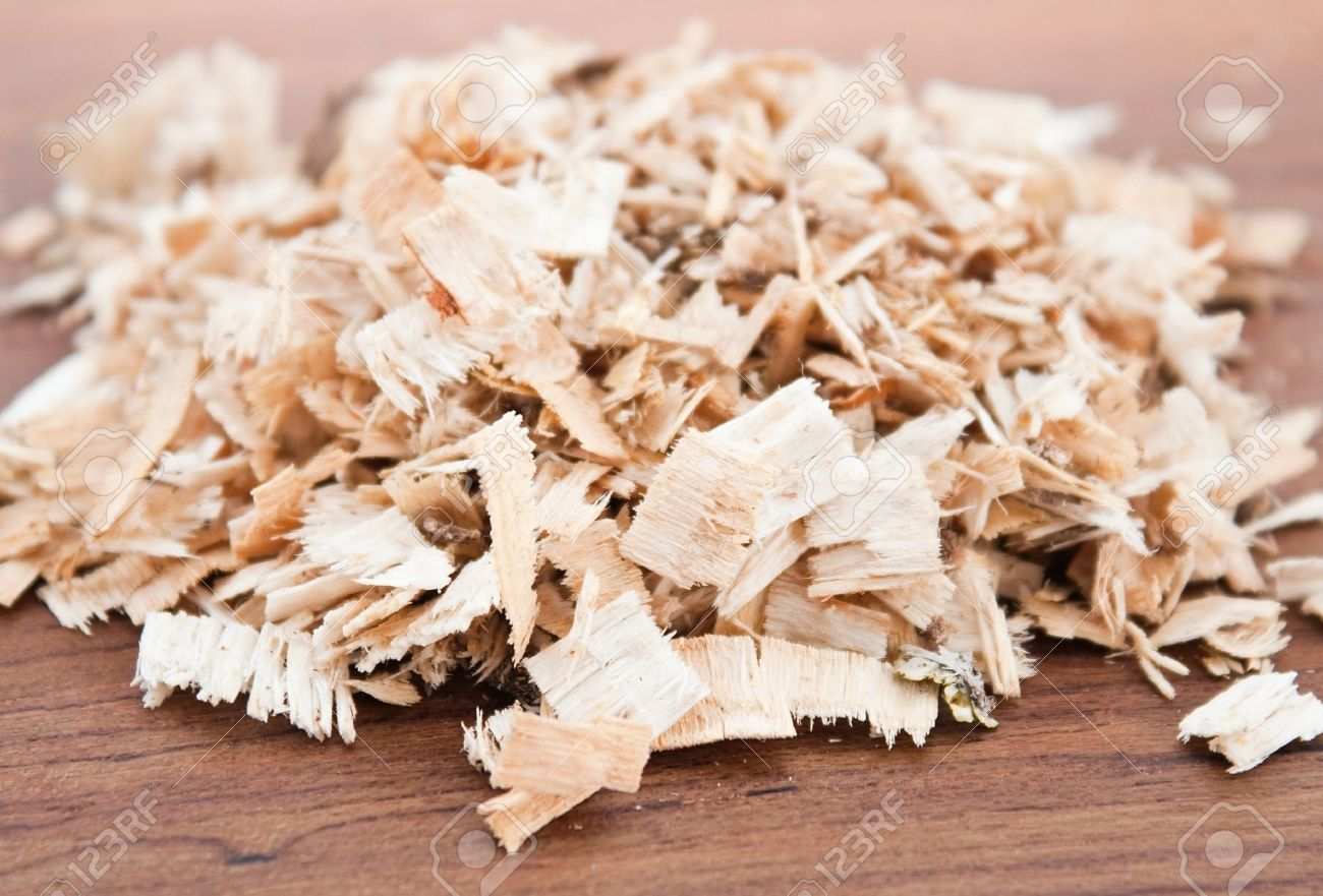 Birch And Oak Sawdust On Wooden Background Stock Photo Picture And Royalty Free Image Image 11530959