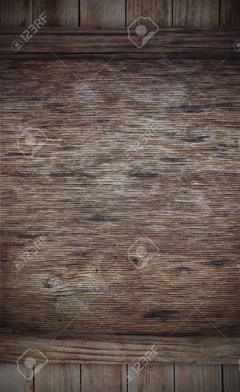 Weathered wooden board can use as advertisement baord Stock Photo - 11962949