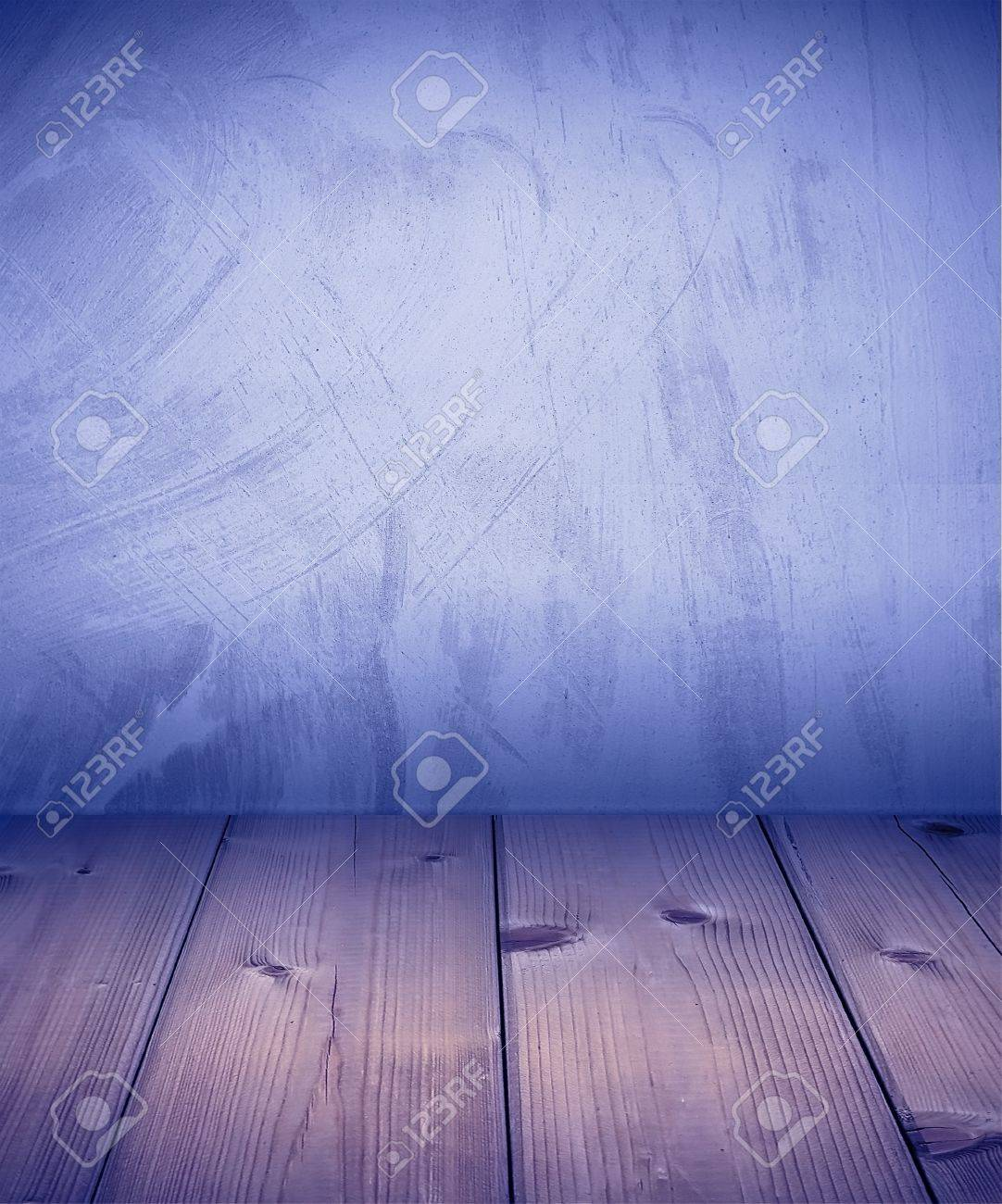 Wood timber ground and plaster wall Stock Photo - 13183187