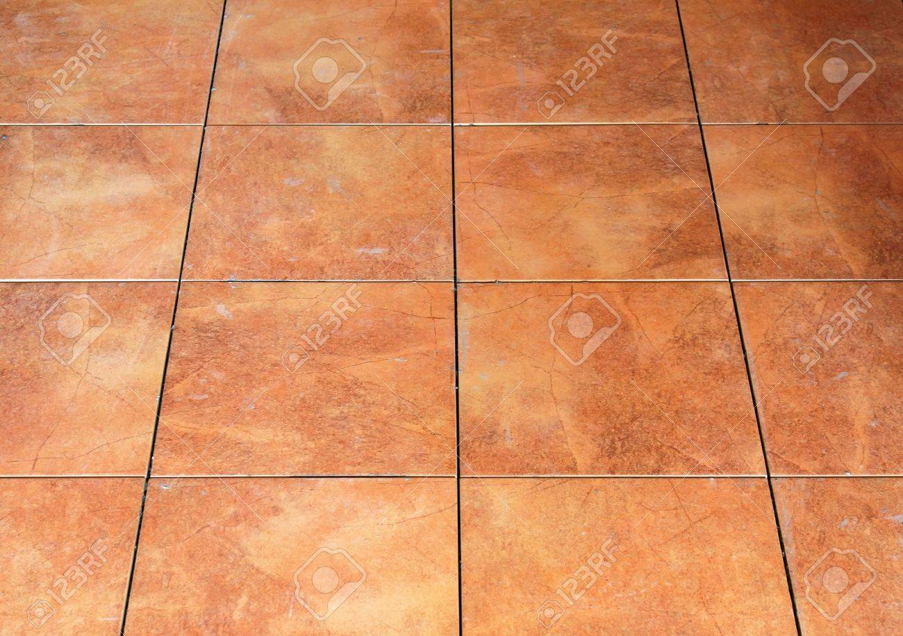 Pattern Of The Red Floor Tile Stock Photo   14481271