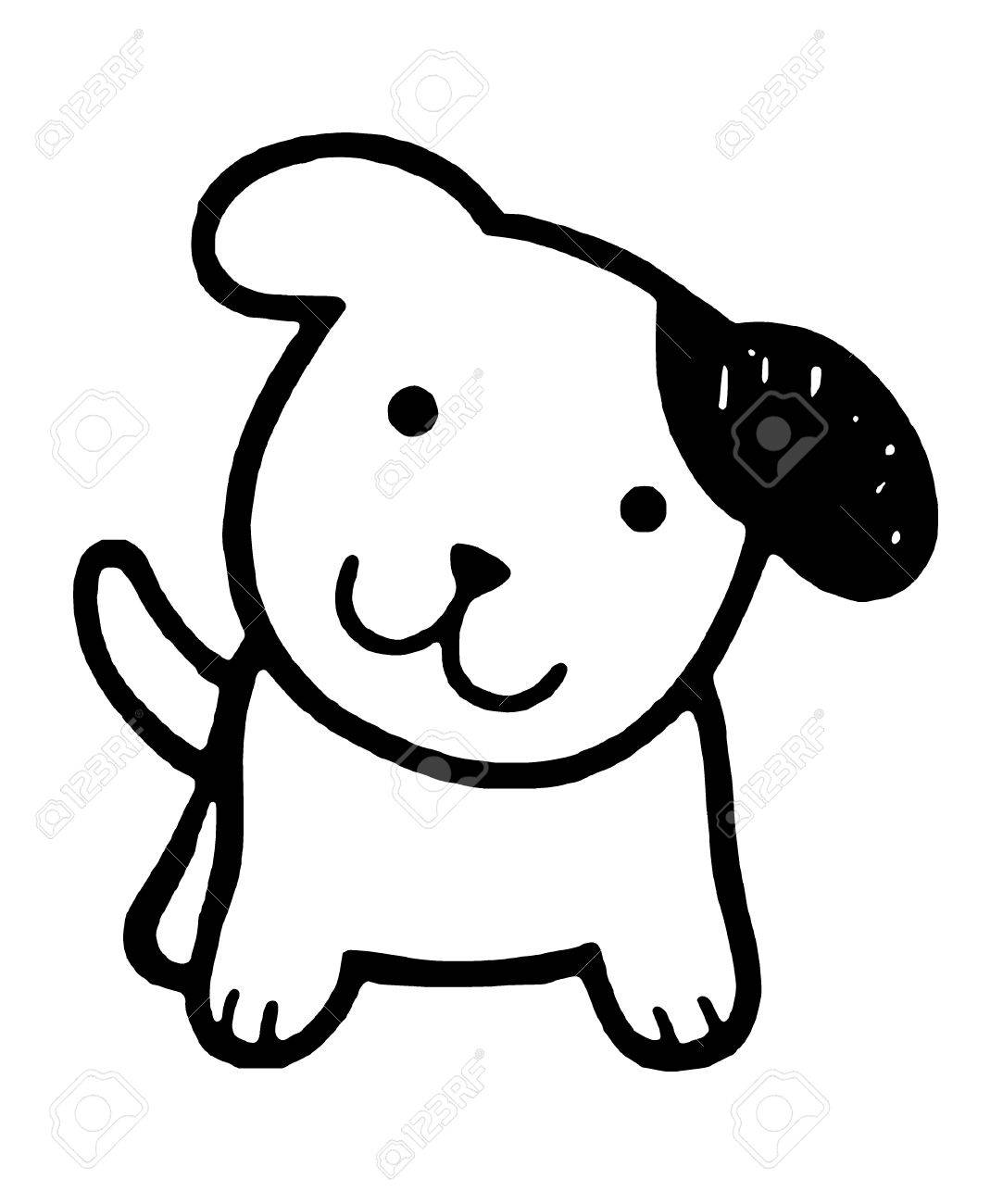 cute dog vector illustration royalty free cliparts vectors and rh 123rf com dog vector free dog vector art