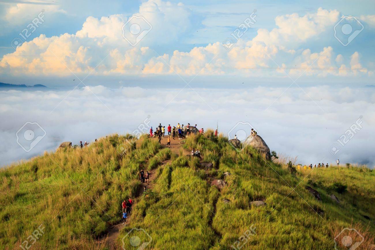 People hiking at Broga Hill, Malaysia - 38177929