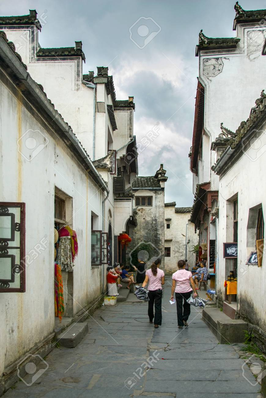 Xidi ancient lane - 97816998