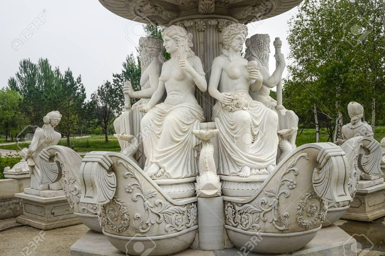 statue art at volga manor - 127378524