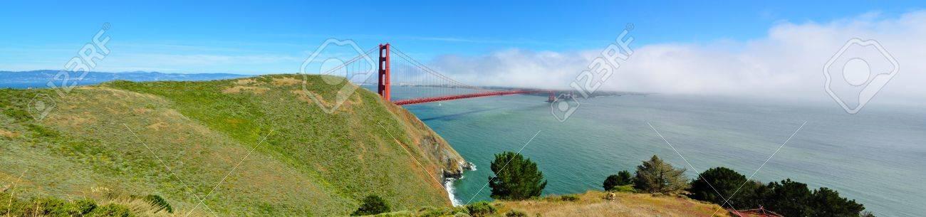 Golden Gate Bridge Panorama Stock Photo - 8019264
