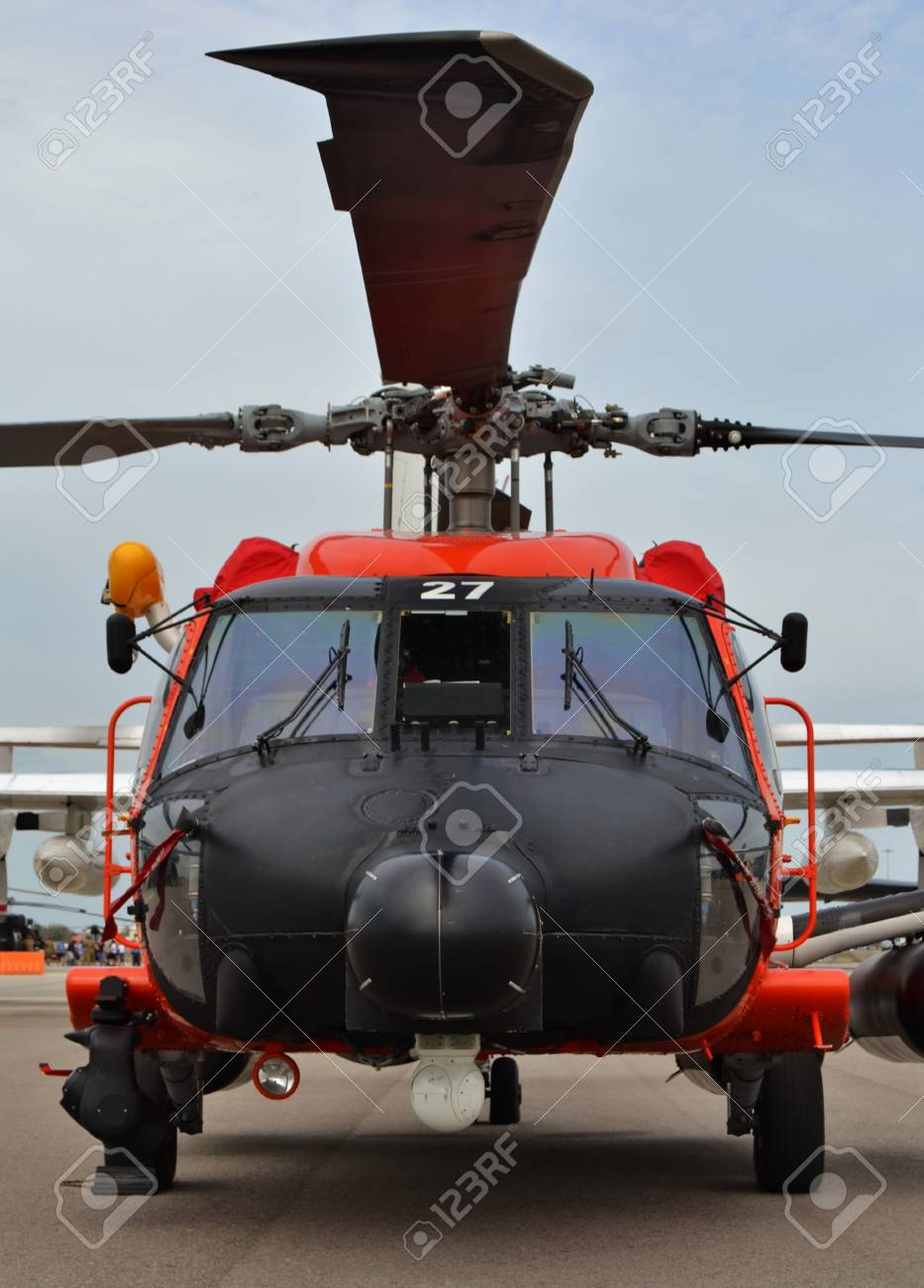 Coast Guard MH-60 Jayhawk Rescue Helicopter