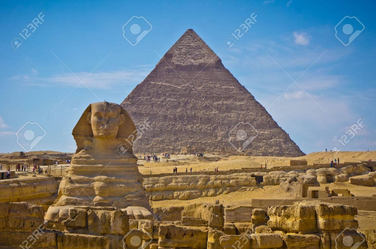 エジプト ・ ギザの大スフィンク...