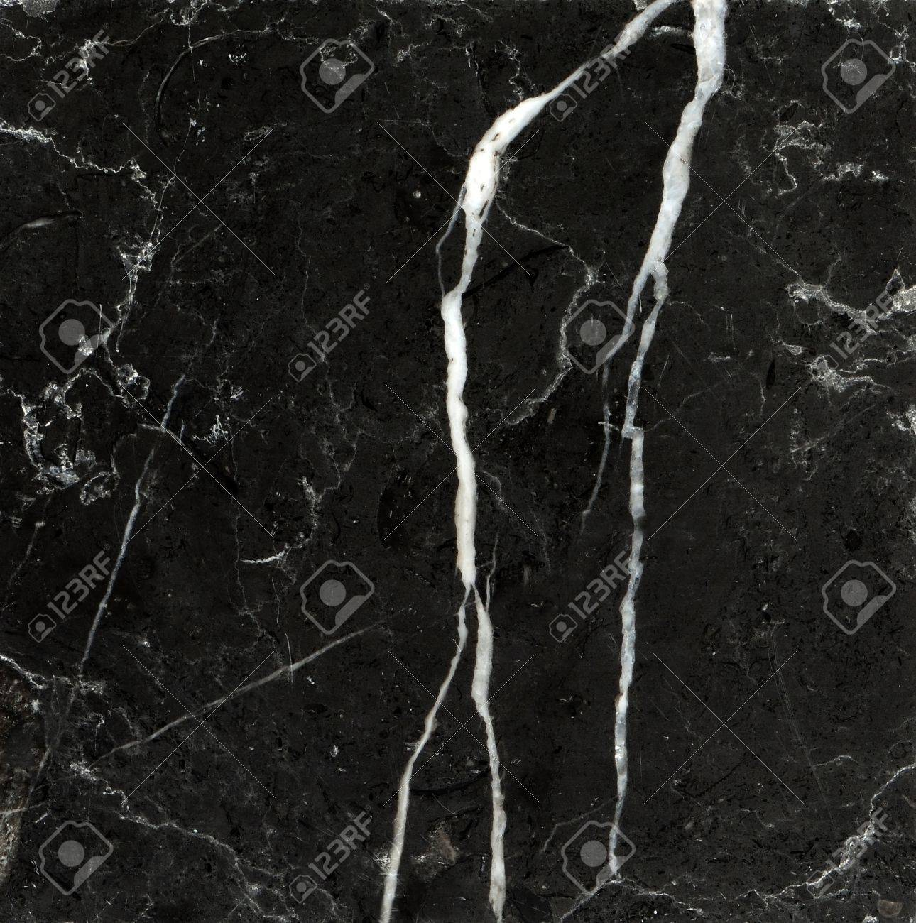 Black marble texture background (High resolution scan) Stock Photo - 9187229