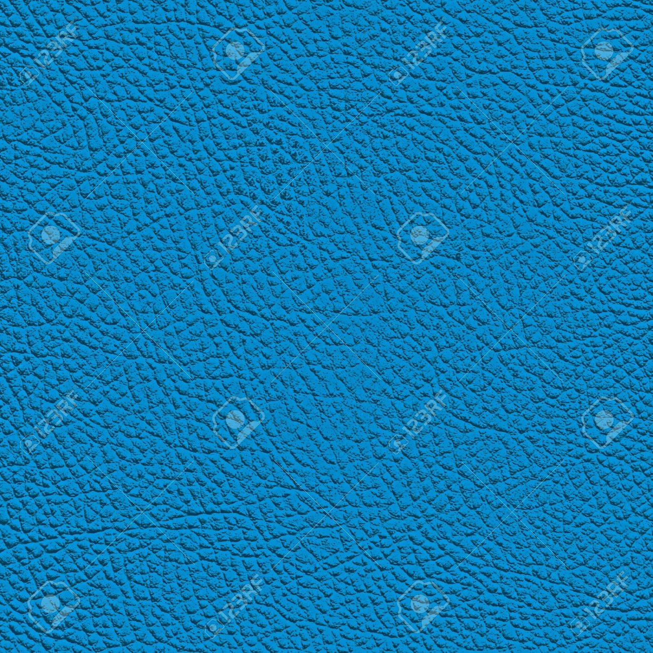 Blue leather texture. (high res. scan) Stock Photo - 9193892