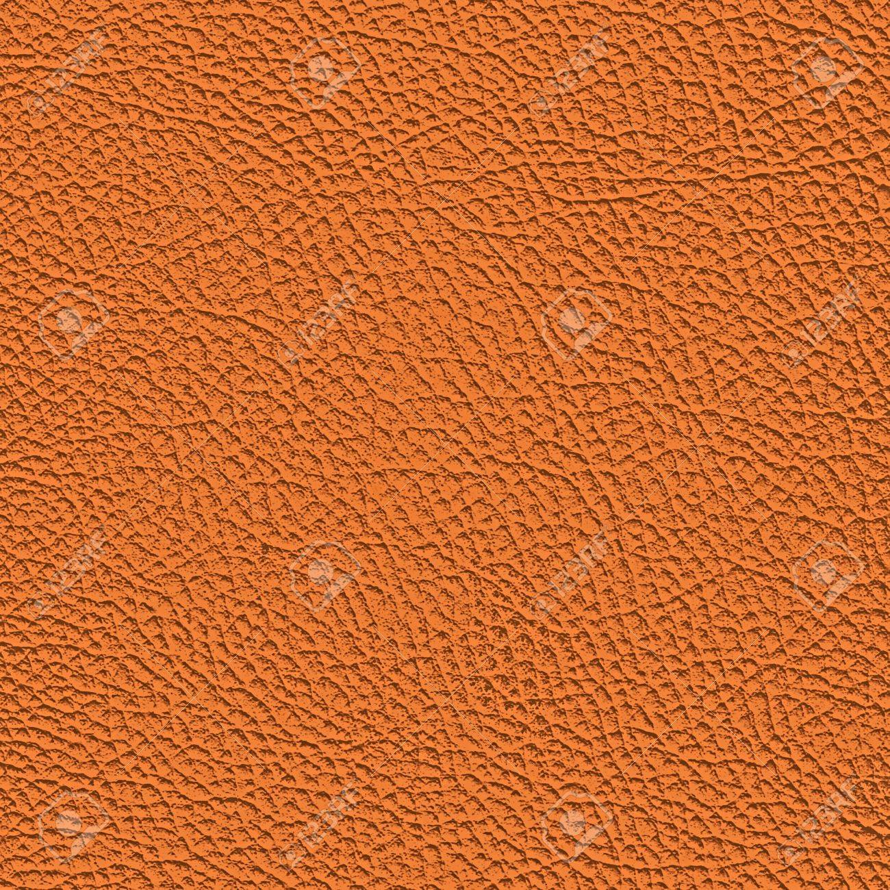 Orange leather texture. (high res. scan) Stock Photo - 9193898