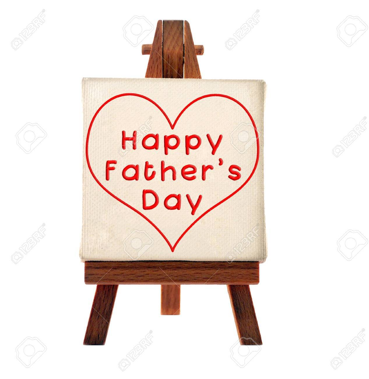 happy father's day message Stock Photo - 9316641