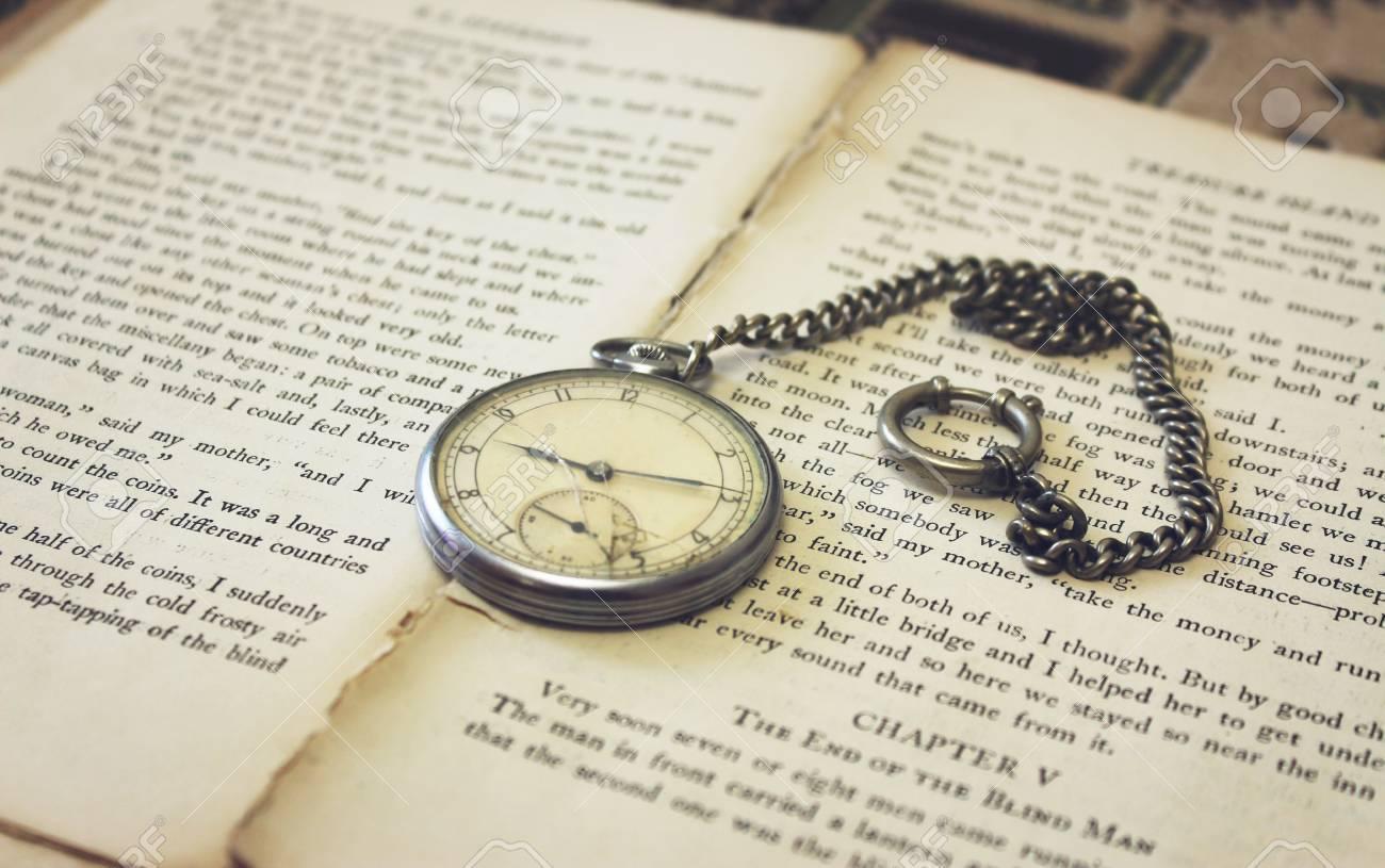 Pocket Watch Book