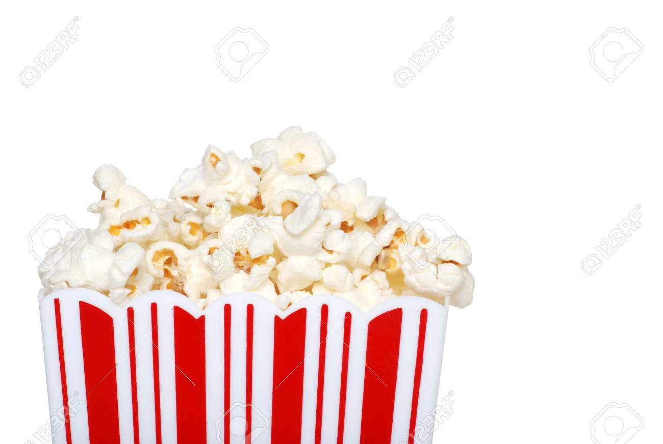 closeup of popcorn in a container Stock Photo - 5923280