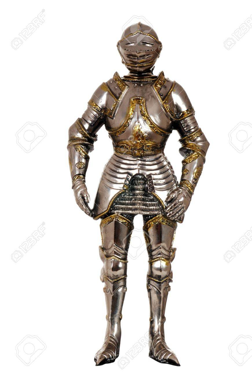 full suit of armour Stock Photo - 10616445