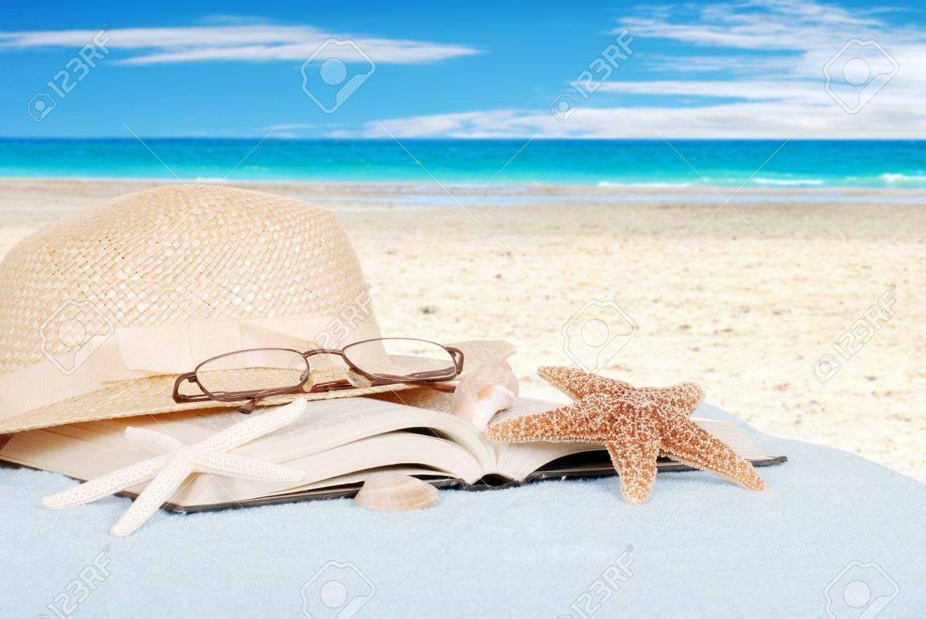 Still life beach concept - 12762028